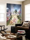 Doctor Doom And The Masters Of Evil No.2 Cover: Dr. Doom, Princess Python, Clown and Baron Zemo Wall Mural by Karl Kerschl
