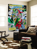 Tales to Astonish 76 Group: Marvel Universe Wall Mural by Vince Colletta