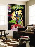Excalibur No.16 Cover: Nightcrawler, Phoenix, Shadowcat and Kymri Poster géant par Alan Davis