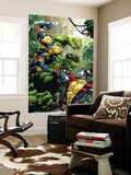 X-Men Vs Hulk 1 Cover: Wolverine, Colossus and Hulk Wall Mural by David Yardin