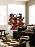 Wolverine: First Class 9 Cover: Wolverine and Shang-Chi Wall Mural by Salva Espin