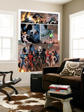 Dark Avengers No.7 Group: Emma Frost, Wolverine, Mimic, Weapon Omega and Dagger Wall Mural by Luke Ross