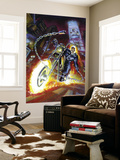 Ghost Rider Annual 2 Cover: Ghost Rider Wall Mural by Mark Texeira