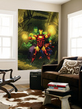 Marvel Adventures Super Heroes No.4 Cover: Iron Man, Hulk and Spider-Man Wall Mural by Roger Cruz