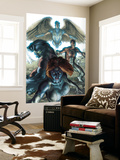 Dark X-Men 1 Cover: Mystique, Dark Beast and Omega Wall Mural by Simone Bianchi