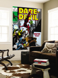 Daredevil No.47 Cover: Daredevil Swinging Wall Mural by Gene Colan