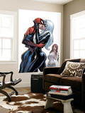The Amazing Spider-Man No.606 Cover: Spider-Man, Black Cat and Mary Jane Watson Wall Mural by J. Scott Campbell