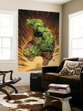 Marvel Adventures Hulk 14 Cover: Hulk Wall Mural by David Nakayama