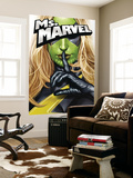 Ms. Marvel No.25 Cover: Ms. Marvel Wall Mural by Greg Horn