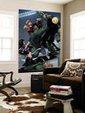 Young Avengers No.8 Group: Mr. Hyde, Bishop, Kate, Hulkling and Young Avengers Wall Mural by Andrea Di Vito