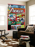 Avengers Annual 10 Cover: Captain America Wall Mural by Michael Golden