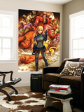 Marvel Adventures Super Heroes No.19 Cover: Invisible Woman Wall Mural by Niko Henrichon