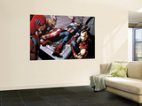 Avengers Finale No.1 Group: Captain America, Giant Man, Iron Man, Thor and Wasp Wall Mural by Neal Adams