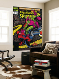 Spectacular Spider-Man No.200 Cover: Spider-Man and Green Goblin Wall Mural by Sal Buscema