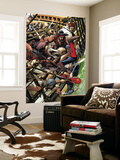 Spider-Man 1602 2 Cover: Spider-Man Jumping Wall Mural by Michael Golden
