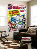 The Fantastic Four No.28 Cover: Mr. Fantastic Wall Mural by Jack Kirby