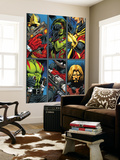 Guardians Of The Galaxy No.2 Group: Gamora, Rocket Raccoon and Adam Warlock Wall Mural by Paul Pelletier