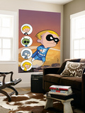 Franklin Richards: Sons Of Geniuses No.1 Cover: Richards and Franklin Wall Mural by Chris Eliopoulos