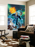 Fantastic Four No.522 Cover: Storm and Johnny Wall Mural by Mike Wieringo