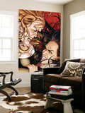 X-Factor 46 Cover: Siryn and Monet Wall Mural by David Yardin