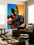Wolverine: Origins No.26 Cover: Wolverine and Daken Wall Mural by Greg Land