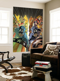 Marvel Adventures: The Avengers No.37 Cover: Captain America Wall Mural
