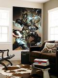 Agents of Atlas No.3 Cover: Captain America, Namora, Gorilla-Man and M-11 Wall Mural by Adi Granov