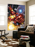 The Invincible Iron Man No.1 Cover: Iron Man Wall Mural by Joe Quesada