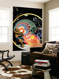 Marvel Adventures Fantastic Four 25 Cover: Human Torch Wall Mural by Paul Smith