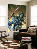 Skaar: Son Of Hulk 8 Cover: Skaar and Silver Surfer Wall Mural by David Yardin