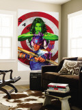 She-Hulk No.2 Cover: She-Hulk and Hawkeye Wall Mural