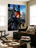 Black Widow No.5 Cover: Black Widow Wall Mural by Greg Land