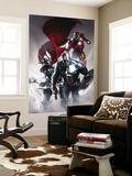 Secret Invasion No.6 Cover: Captain America, Thor and Iron Man reproduction murale géante