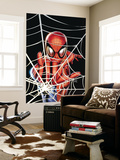 Spider-Man: Brand New Day - Extra!! 1 Cover: Spider-Man Charging Wall Mural by Greg Land
