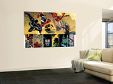 New Avengers 56 Group: Spider-Man, Iron Patriot, Wolverine, Ms. Marvel, Ares and Hawkeye Wall Mural by Stuart Immonen
