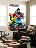 Wolverine No.5: Wolverine and Logan Wall Mural by John Bolton