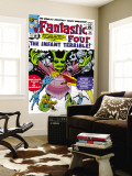 The Fantastic Four No.24 Cover: Mr. Fantastic Wall Mural by Jack Kirby