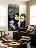 The Loners No.5 Cover: Turbo, Urich, Phil and Darkhawk Wall Mural by Karl Moline