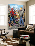 Marvel Adventures Spider-Man No.34 Group: Spider-Man, Green Goblin, Flash Thompson Wall Mural by Cory Hamscher