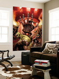 Incredible Hulk No.85 Cover: Hulk and Scorpion Wall Mural by Andy Brase