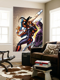 Amazing Spider-Man Presents: Jackpot No.2 Cover: Jackpot and Boomerang Wall Mural by Adriana Melo
