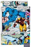 X-Men 1 Group: Beast, Wolverine and Psylocke Wall Mural by Jim Lee