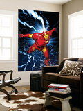 Marvel Two-In-One No.9 Marvel Adventures Iron Man Cover: Iron Man Wall Mural by Michael Golden