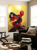 New Avengers No.59 Cover: Spider-Man and Spider Woman Wall Mural by Stuart Immonen