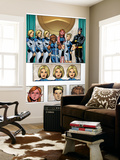 New X-Men: Academy X Yearbook Group: Stepford Cuckoos Reproduction murale g&#233;ante par Georges Jeanty