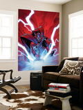 Thor No.9 Cover: Thor Wall Mural by Olivier Coipel