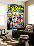 Uncanny X-Men No.126 Cover: Wolverine, Colossus, Storm, Cyclops, Nightcrawler and X-Men Fighting Wall Mural by Dave Cockrum