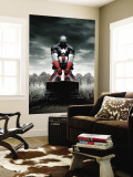 Captain America 4 Cover: Captain America Wall Mural by Steve Epting
