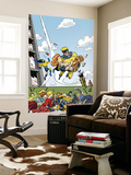 The Age Of The Sentry 4 Cover: Sentry Wall Mural by Dave Bullock