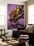Ultimate Spider-Man No.117 Cover: Green Goblin and Hobgoblin Fighting Wall Mural by Stuart Immonen
